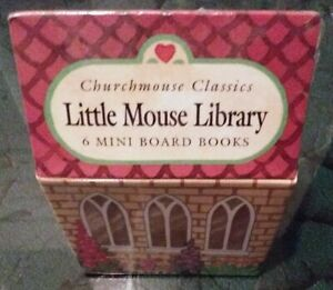 Christopher Churchmouse Classics Little Mouse Library 6 Book Set Barbara Davoll
