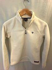 Vineyard Vines Women's XS White Half-Zip Fleece Jacket - Martha's Vineyard