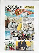 brochure MANDY MOORE DRAGON FORCE BROSSURATON. PAGINE 4