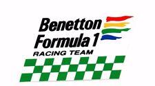 Benetton F1 Formula One Vintage Sticker Decal 8cm Tall