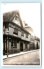 *Old Oak House Northgate Street Ipswich Suffolk Uk Vintage Photo Postcard C84