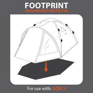 NEW SLUMIT® GOBI 3 FOOTPRINT GROUNDSHEET PROTECTOR for TENT