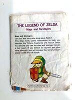 Rare 1987 Nintendo Legend Of Zelda Maps and Strategies Booklet Printed in Japan