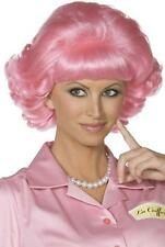 Smiffy's Frenchy Wig - Pink