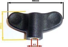 Flügelmutter, zur Fixierung der Notenablage für K&M Notenständer, Kunststoff, M5