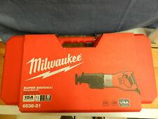 Milwaukee Orbital Super Sawzall - 15 Amps, Model# 6538-21