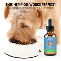 Premium Pure Hemp Oil For Dogs Cats Pet 500mg/750mg -Anxiety Relief,Pain Relief