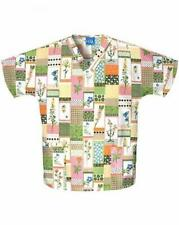WorkWear 4700 Women's V-Neck 2-Pocket Scrub Top Patch of the Day X-Small