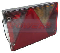 ASPOCK MULTIPOINT 4 IV REAR R/H TAIL LIGHT LAMP IFOR WILLIAMS BRENDERUP TRAILER