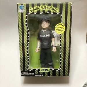 Good Charlotte Joel Action Figure and Signed trading card!