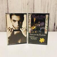 2 Prince & The Revolution Cassette Tapes Purple Rain Soundtrack + The Hits 2