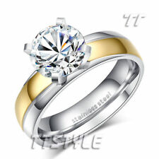 Stainless Steel Stone Fashion Rings
