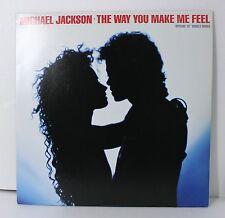 "1987 MICHAEL JACKSON - THE WAY YOU MAKE ME FEEL - RARE PROMO LP  JAPAN  - 12"""