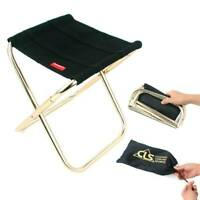 Portable Folding Stool Mini Chair Camping Fishing Picnic Chair Seat Outdoor NEW