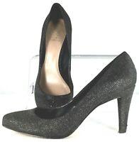 Vince Camuto Kadri Pump Women's Size 9.5 M Black Sparkle Slip On High Heel Shoes