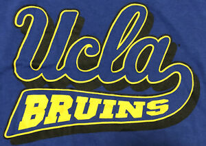 UCLA Bruins Champion XL Blue tshirt 29 in. long 21 in. wide