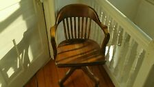 Antique Vintage Lawyers Bankers Library Arm Chair