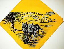 BOY SCOUT  WILDERNESS TRAIL  1966  ANNIV.  HIKE  N/C    MICH