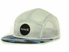 Hurley Camper Hat New - Cap - White/Mixed Colors Adjustable Strapback NWT