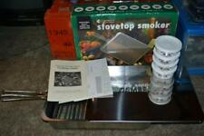 Camerons Original Heavy Duty Stainless Steel Stovetop Smoker w/ Chips VG COND!!!