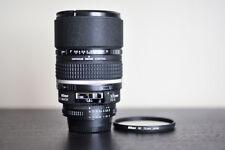 Nikon AF 105mm F/2 FX DC Portrait Lens w/ Nikon NC UV Filter!