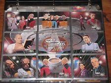 ~Star Trek Next Generation Season THREE Collectible Trading Cards & Binder~