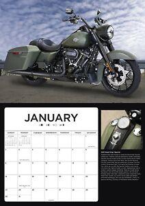 Harley-Davidson® 2022: 16-Month Calendar by David Blattel