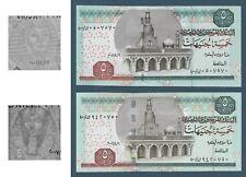 Egypt - 2006 - Scarce - Replacement 400 - Different Wmk. - ( 5 EGP - P-63 ) UNC