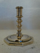 Nice Dutch/Spanish brass candlestick 17th century, ca.1680