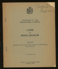 Baghdad Government of Iraq / Government of Iraq Directorate-General 1st ed 1953