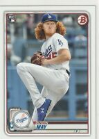 Dustin May Los Angeles Dodgers 2020 Bowman Rookie Card