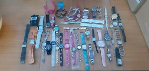 Joblot 38 Watches From House Clearance seiko, limit, wrangler, casio, phillippe