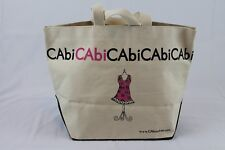 CAbi Large Canvas Tote Bag Shopper NEW