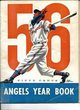 1956 Los Angeles Angels Yearbook Steve Bilko Gene Mauch!!