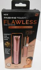 Finishing Touch Flawless Women's Painless Hair Remover, Rose Gold/Gold