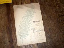 Hymne exécuté à bord du Titanic dans la nuit d'avril chant seul 1912 L.l Mason