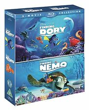 FINDING DORY & FINDING NEMO Box Set 2 Movie Pixar Film Collection NEW BLU-RAY
