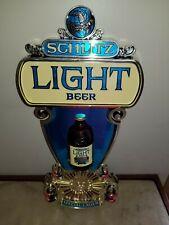 """Vintage 1976"""" Schlitz Light Beer""""Special Lager Plastic Molded;21.5""""T Sign"""