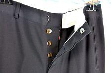 Jean-Paul Gaultier Slacks Trousers Pants Size 2 Wool Blend Ikram Black Career