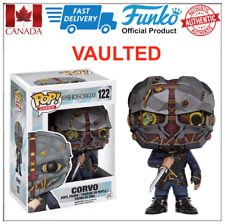 Authentic, Rare VAULTED Funko POP Masked CORVO Dishonored Mint Box Canada Seller