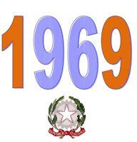 ITALIA Repubblica 1969 Singolo Annata Completa integri MNH ** Tutte le emissioni