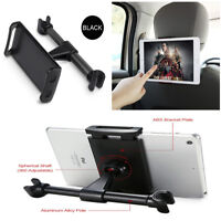 Black Auto Car Back Seat Headrest Mount Holder Stand For iPad Smartphone Tablet