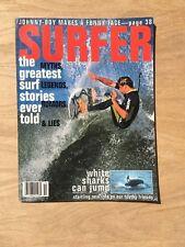 Vintage Surfer Magazine - Taylor Knox - White Sharks - October 1993