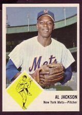1963 FLEER AL JACKSON CARD NO:48 AJ4 NEAR MINT