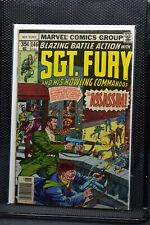 Sgt Fury and His Howling Commandos #146 Marvel 1978 Stan Lee Blazing Battle 5.0