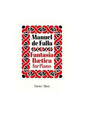 Manuel De Falla Fantasia Baetica for Piano Learn Play Classical Songs MUSIC BOOK