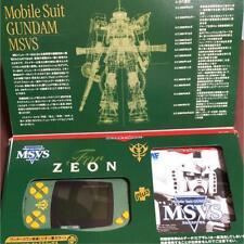 Bandai wonder swan Green GUNDAM MSVS zeon color Limited F/S
