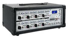 DJ PA TABLE DE MIXAGE AMPLI EFFETS DISCO POWER MIXER USB SD MP3 BLUETOOTH 300W