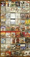 HUGE LOT OF 56 PlayStation 3 Video Games For PS3 Console System Bundle 50 60 100