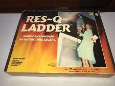Res-Q-Ladder 15' - 2 Story Escape Ladder Fire Escape Safety Ladder All Steel